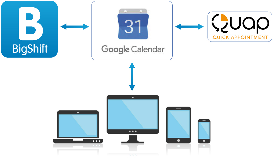 Quick Apointment - Google Calendar
